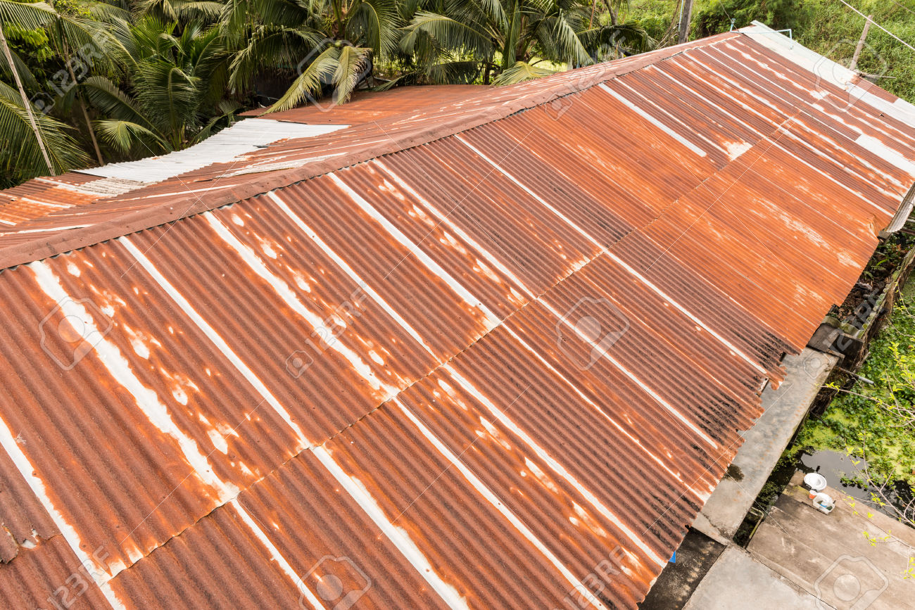 Rusty Standing Seam Metal Roof Texture Cheap