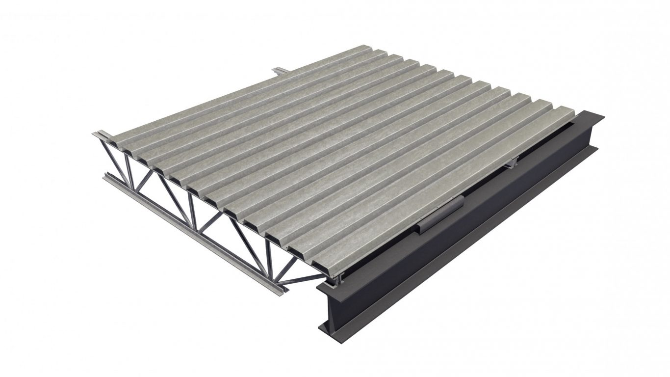 cheap 1 inch metal roof deck