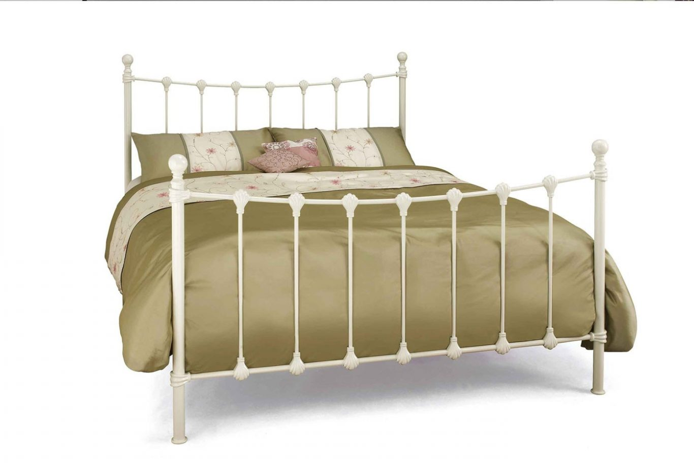 cheap 10 metal frame bed