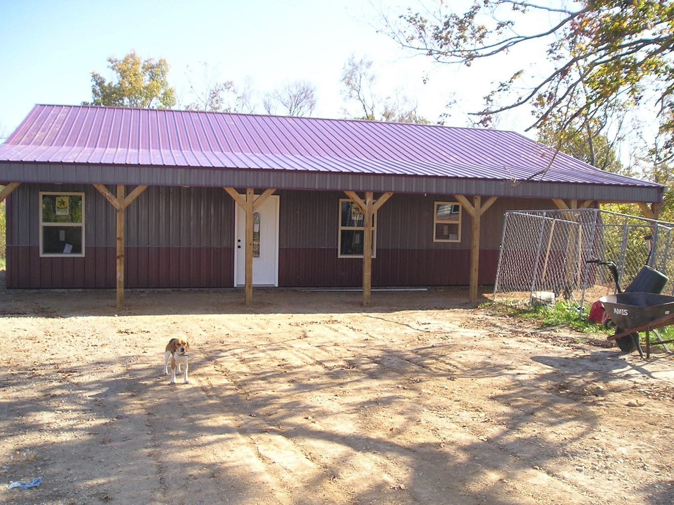 40x60 metal building barns with living quarters