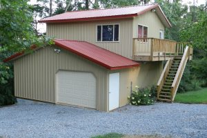 Cheap 40x60 Metal Building Home Plans with Garage
