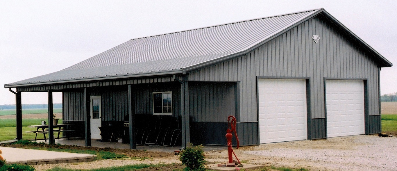 40x60 metal building with living quarters metal diy for 40x50 shop cost