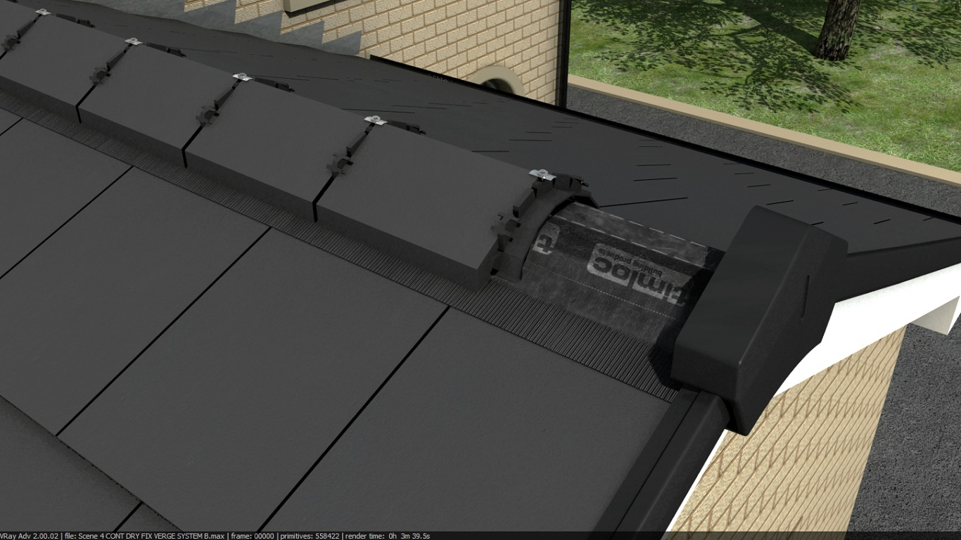Black Metal Roof Ridge Ventilator on a Budget