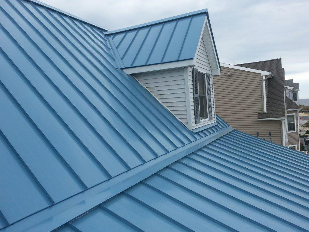 Blue Light Metal Roof Paint on a Budget