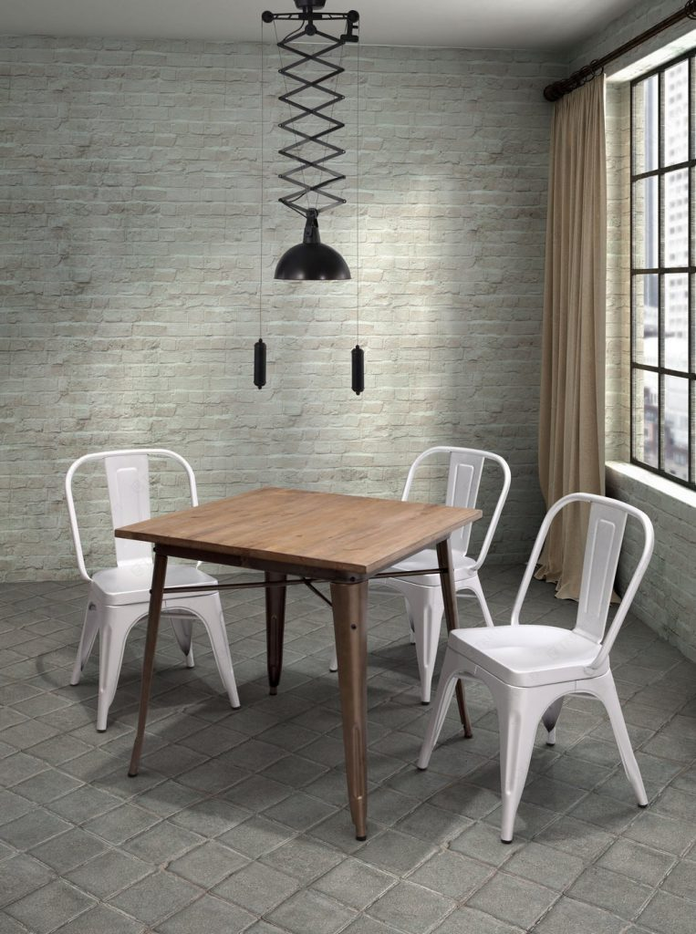 Cheap Elegant Metal Dining Chairs