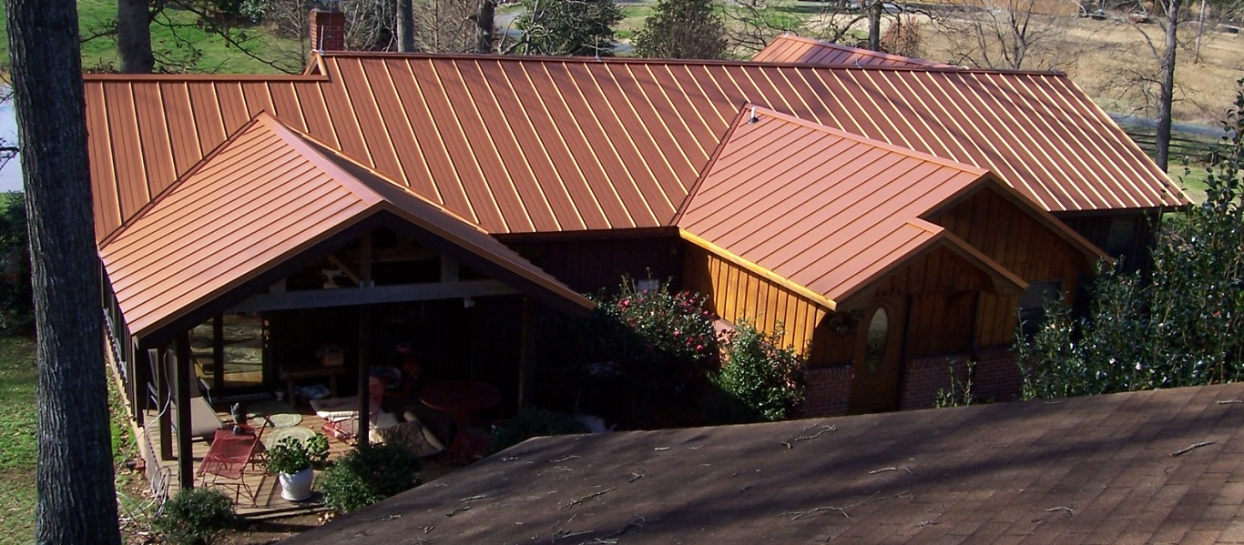 House Cooper Metal Roof on a Budget