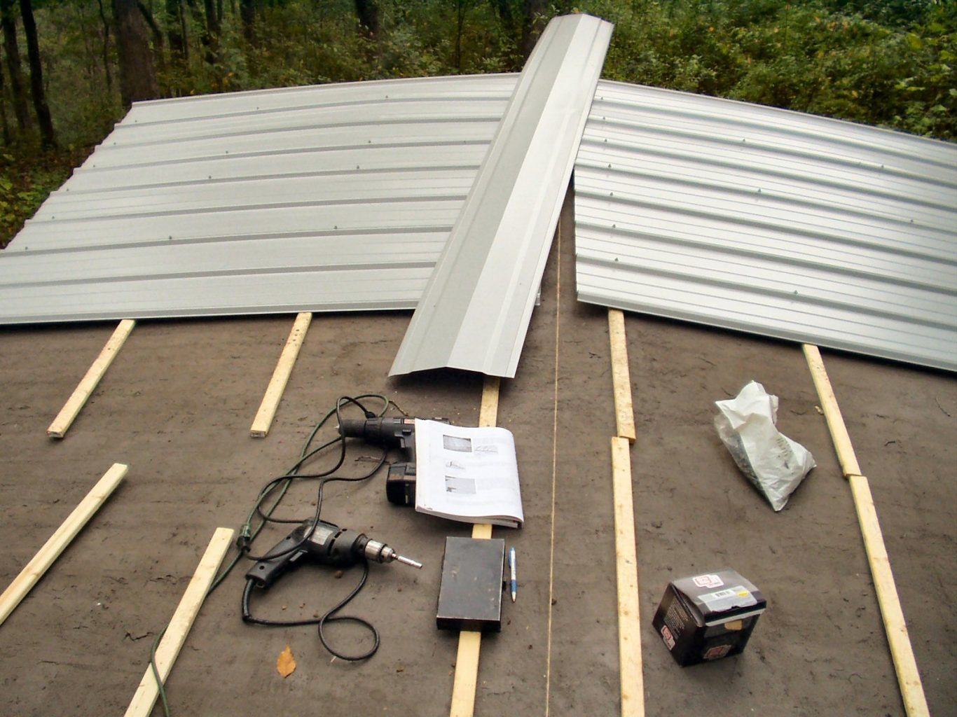 How to Install a Metal Roof Over Shingles with Proper Tools