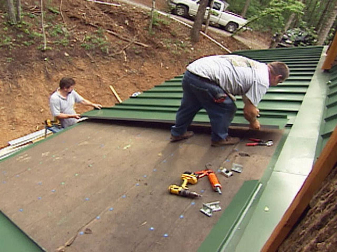Install Insulated Metal Roof Trim