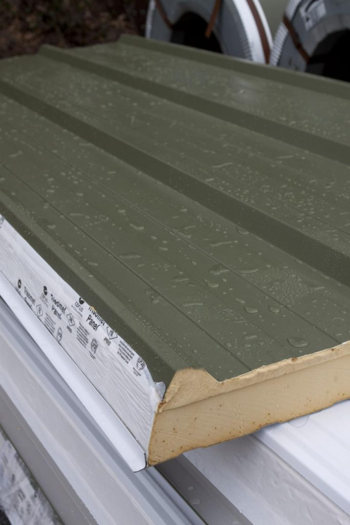 Cheap Insulated Metal Roof Panels Cladding