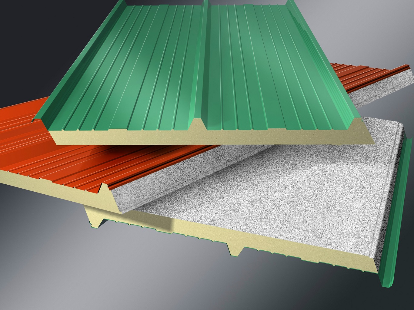 Cheap Insulated Metal Roof Panels Price