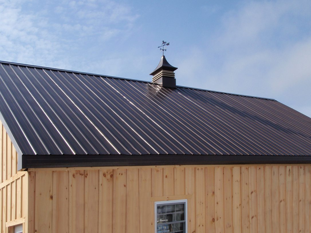 Insulated Metal Roof Panels Red