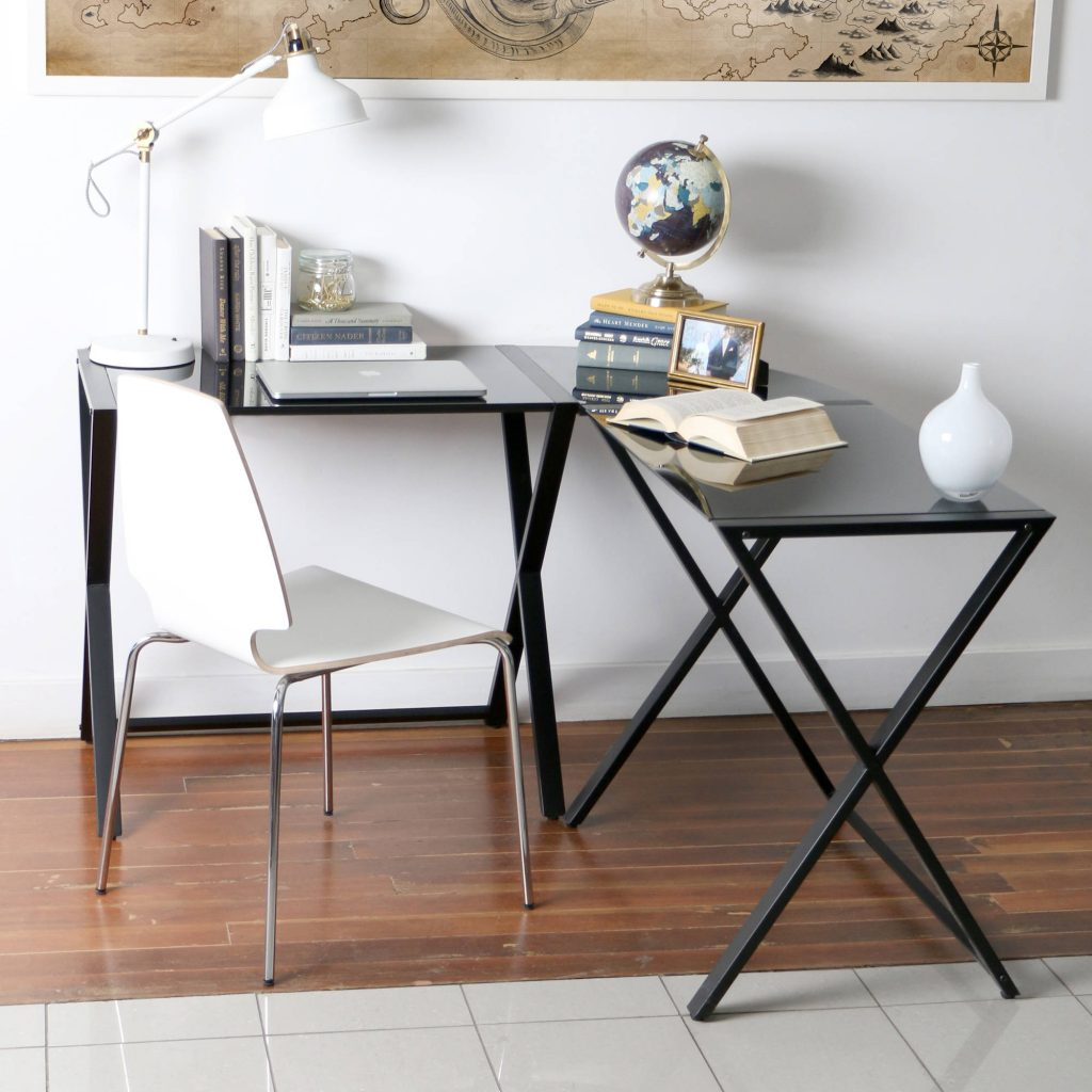 Best and Cheap Metal Desk Glass Home Office