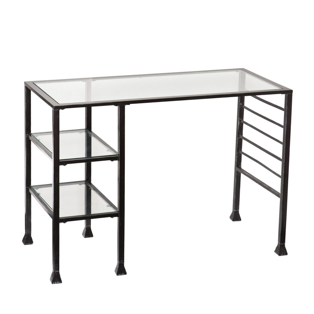 Best Metal Desk Glass with Cabinet