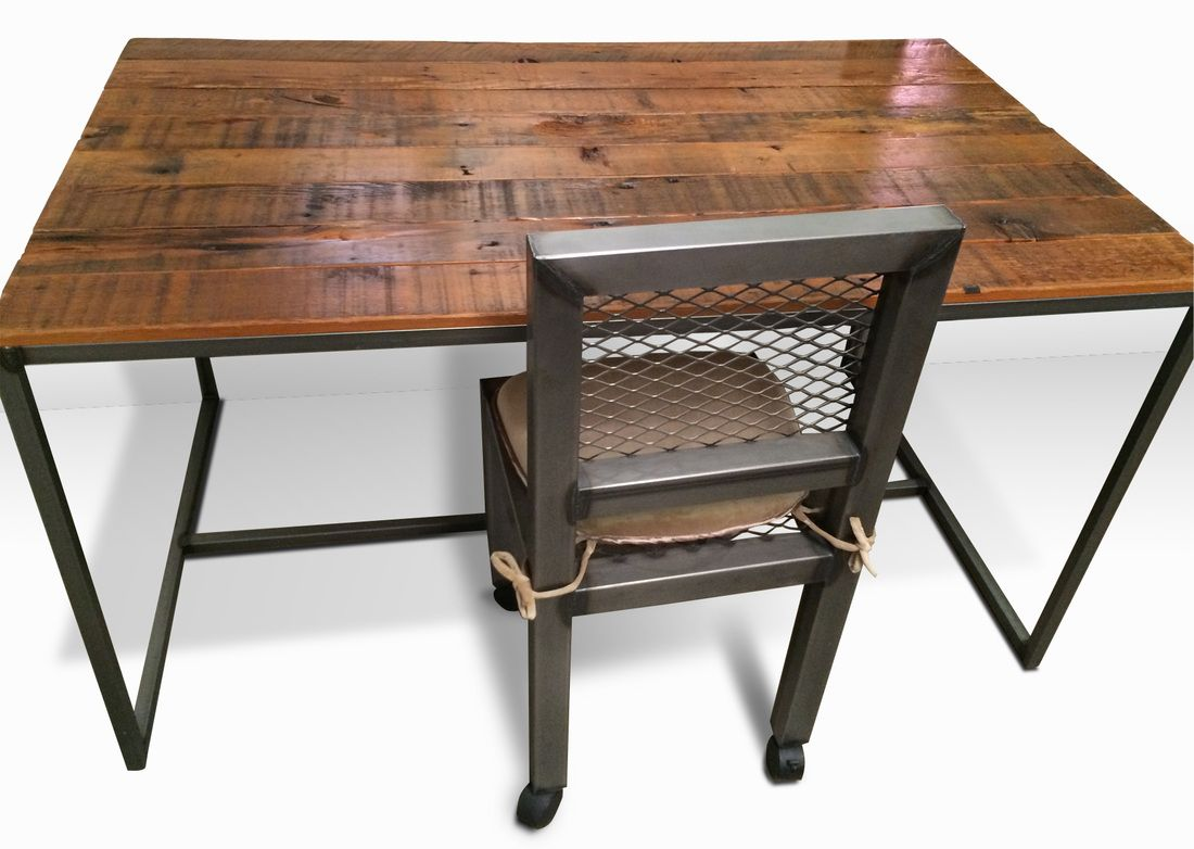 Best Metal Desk Modern Wood with Chair on a Budget