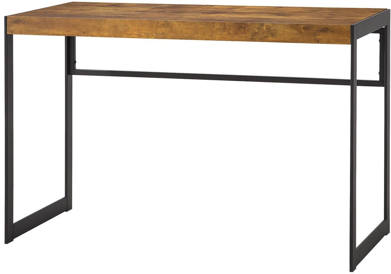 Cheap Metal Desk Simple Design with Wood