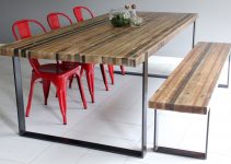 Metal and Wood Dining Chair Cheap on a Budget