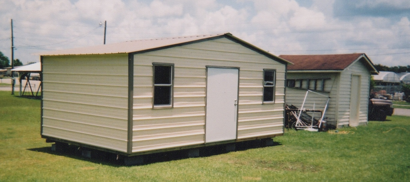 Outdoor Metal Storage Sheds on a Budget