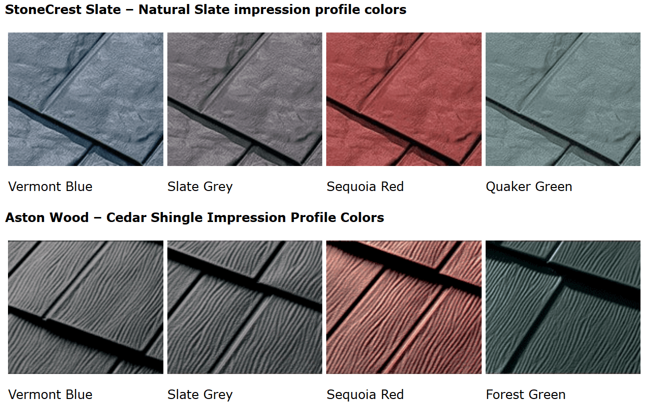 Best Painted steel shingles on a Budget