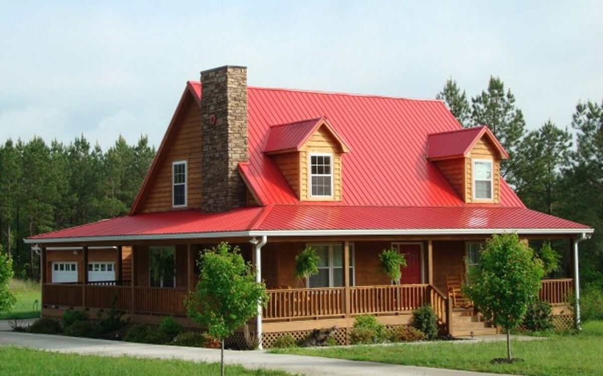 Best Red Metal Roof Trim