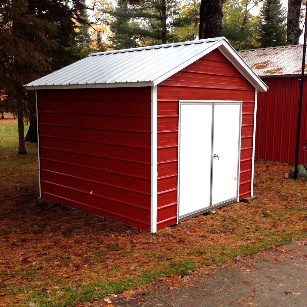 Best Red Metal Storage Sheds on a Budget