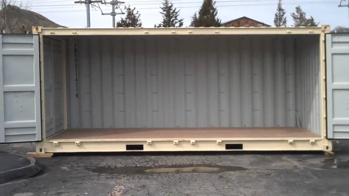 Cheap Side Door Metal Storage Containers