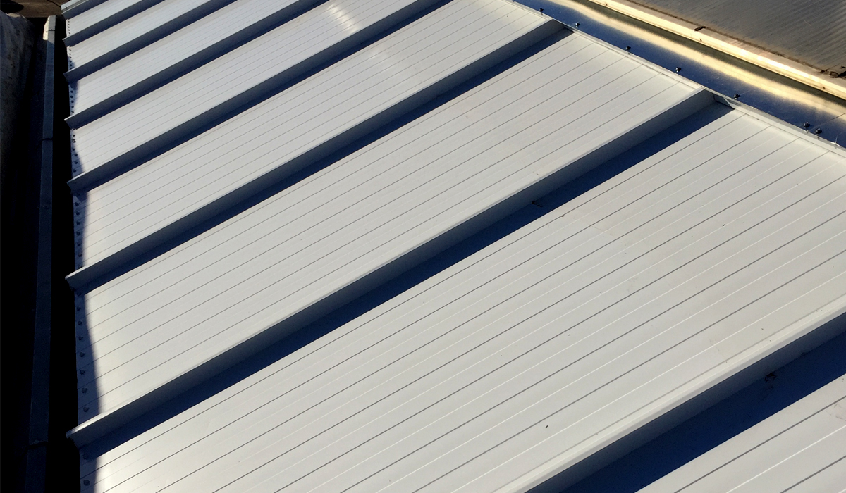 Silver Insulated Metal Roof Panels