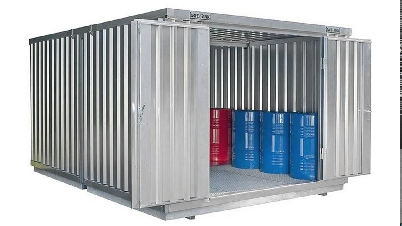 Silver Metal Storage Containers on a Budget