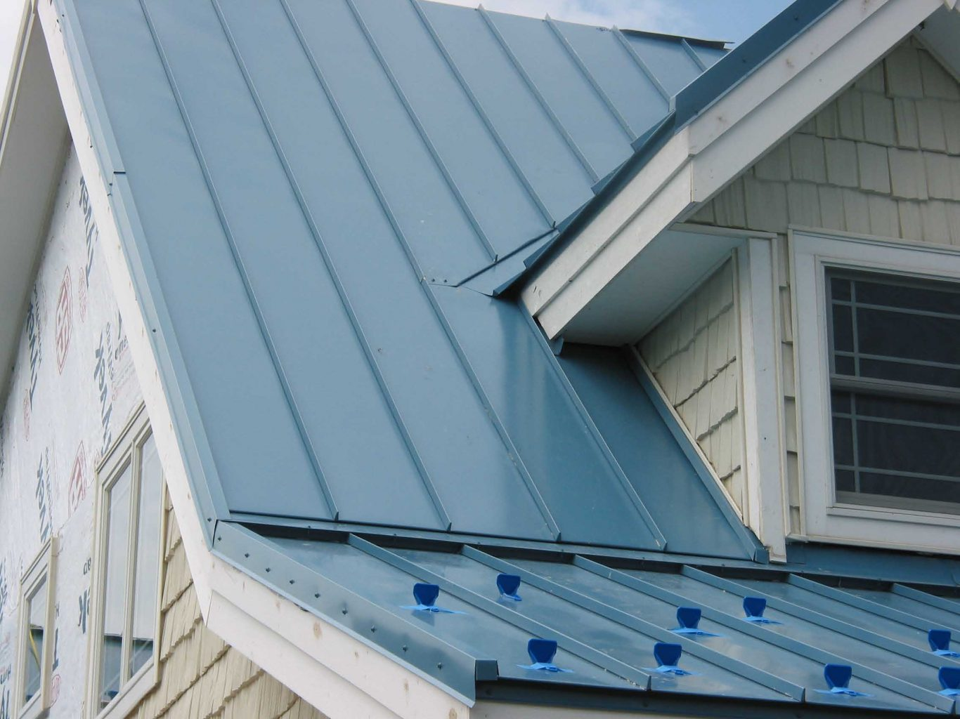 Standing Metal Roof Trim on a Budget