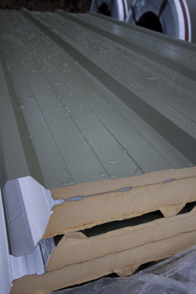Cheap Structural Insulated Metal Roof Panels