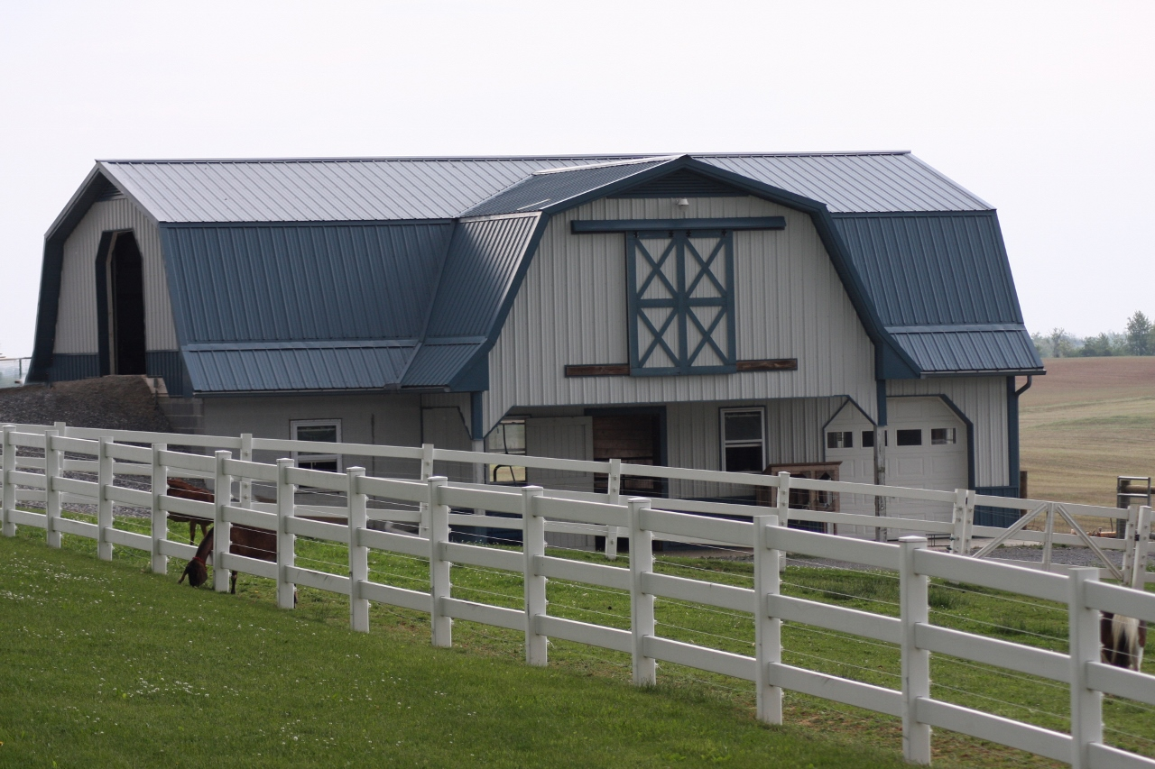 Unique Agricultural Metal Roof Trim Design