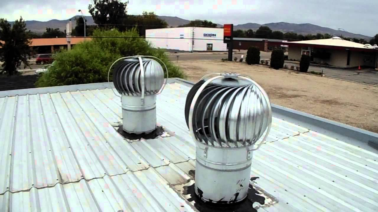 Wind Turbines Metal Roof Vents on a Budget