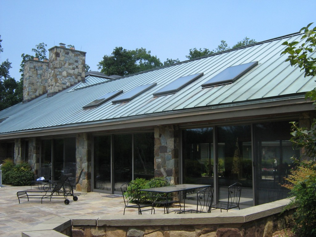 metal roof over shingles