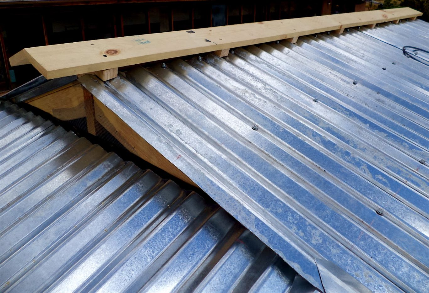 cheap coating a corrugated metal roof