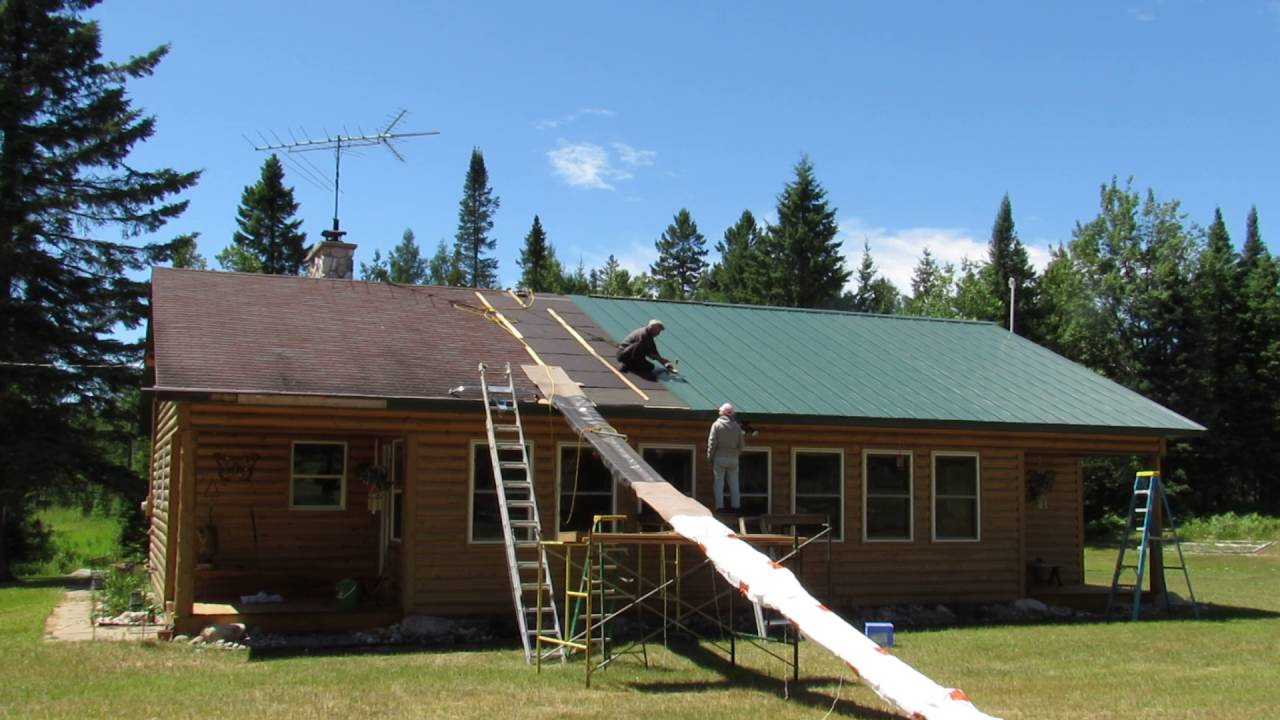 cheap diy metal roof on mobile home