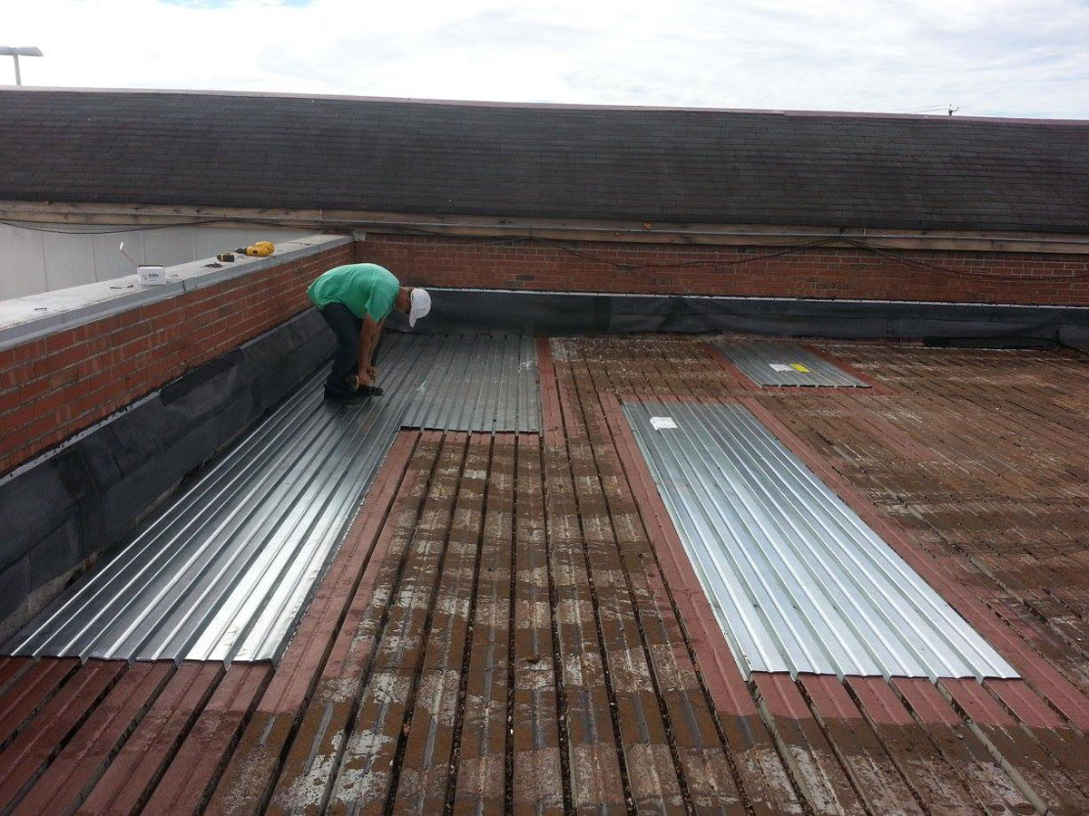cheap galvanized metal roof decking