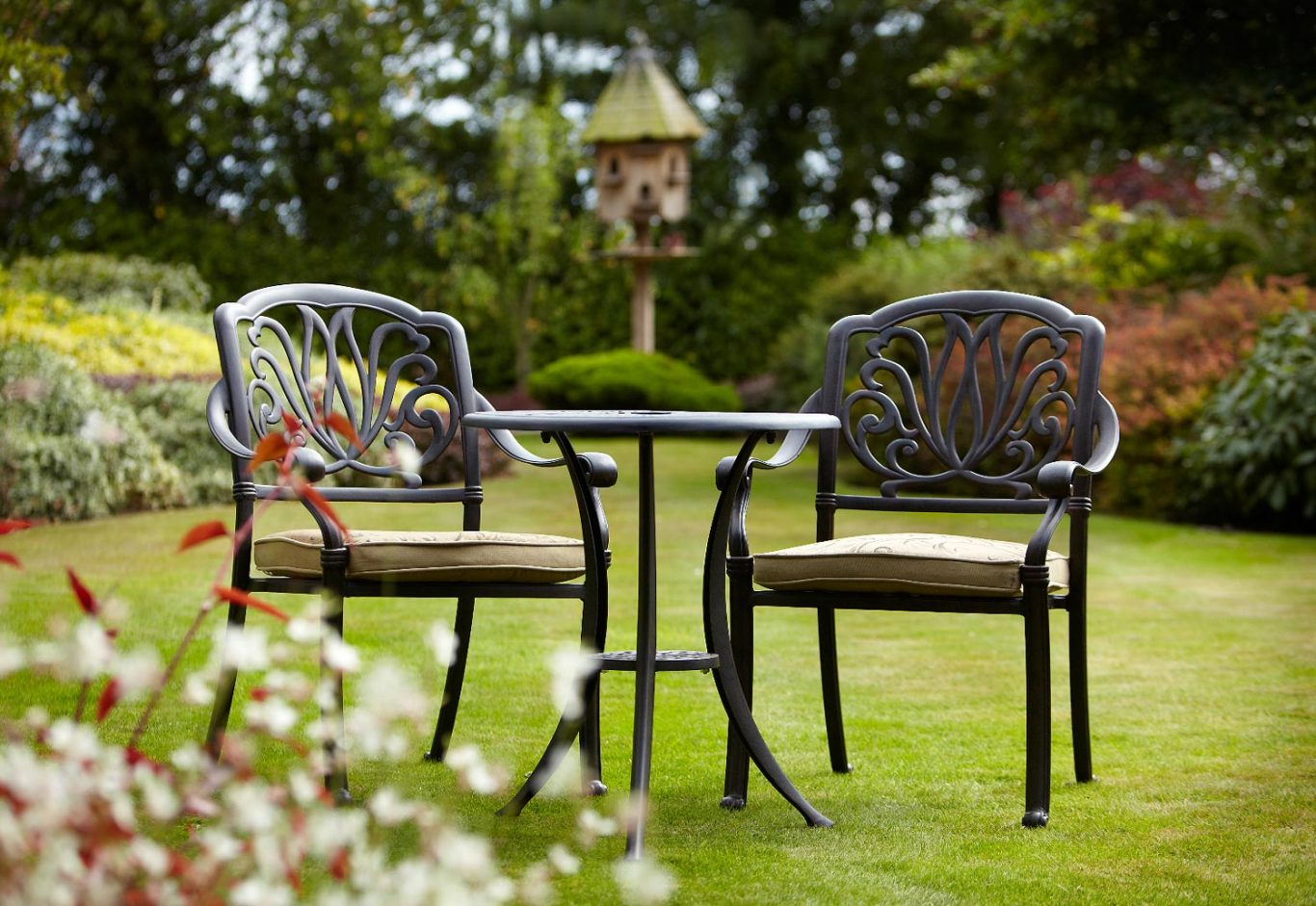 cheap high end metal out door furniture