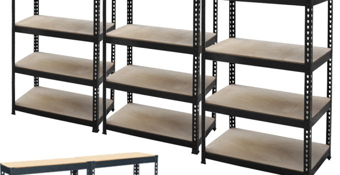 cheap large metal storage shelves