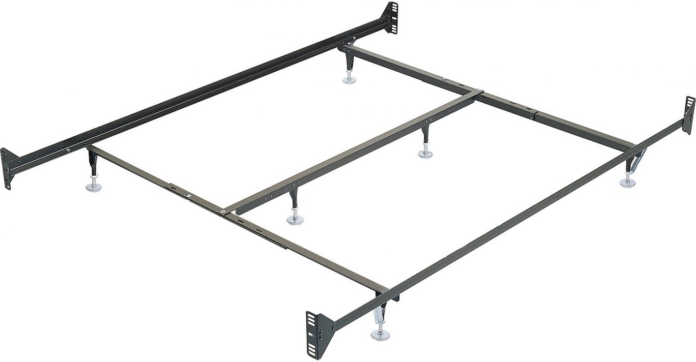 cheap metal bed frame bench