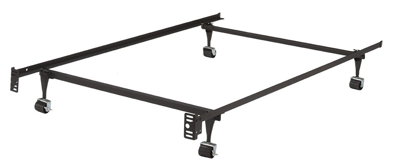 cheap metal bed frame queen used
