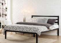 cheap metal frame bed measurements