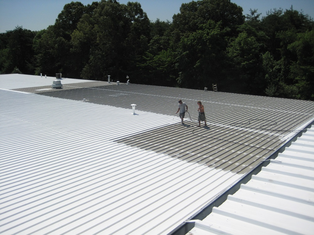 cheap metal roof coating cost