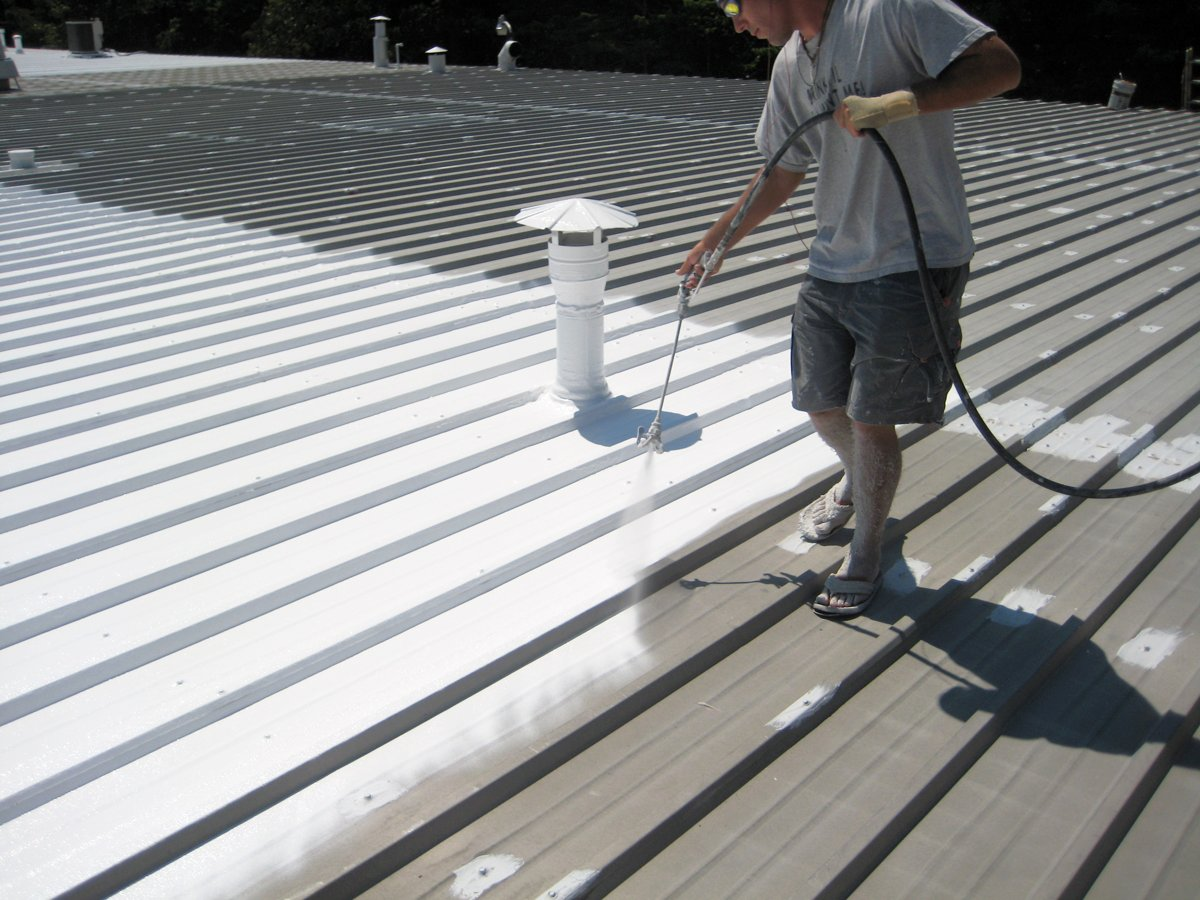 cheap metal roof coating for leaks