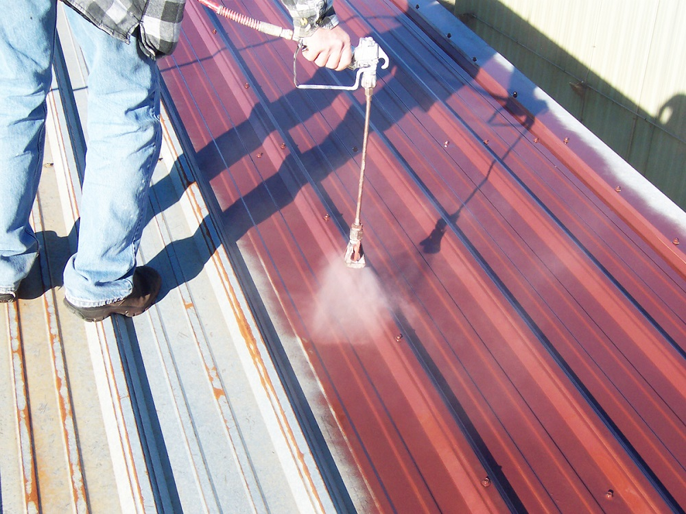 cheap metal roof coating material