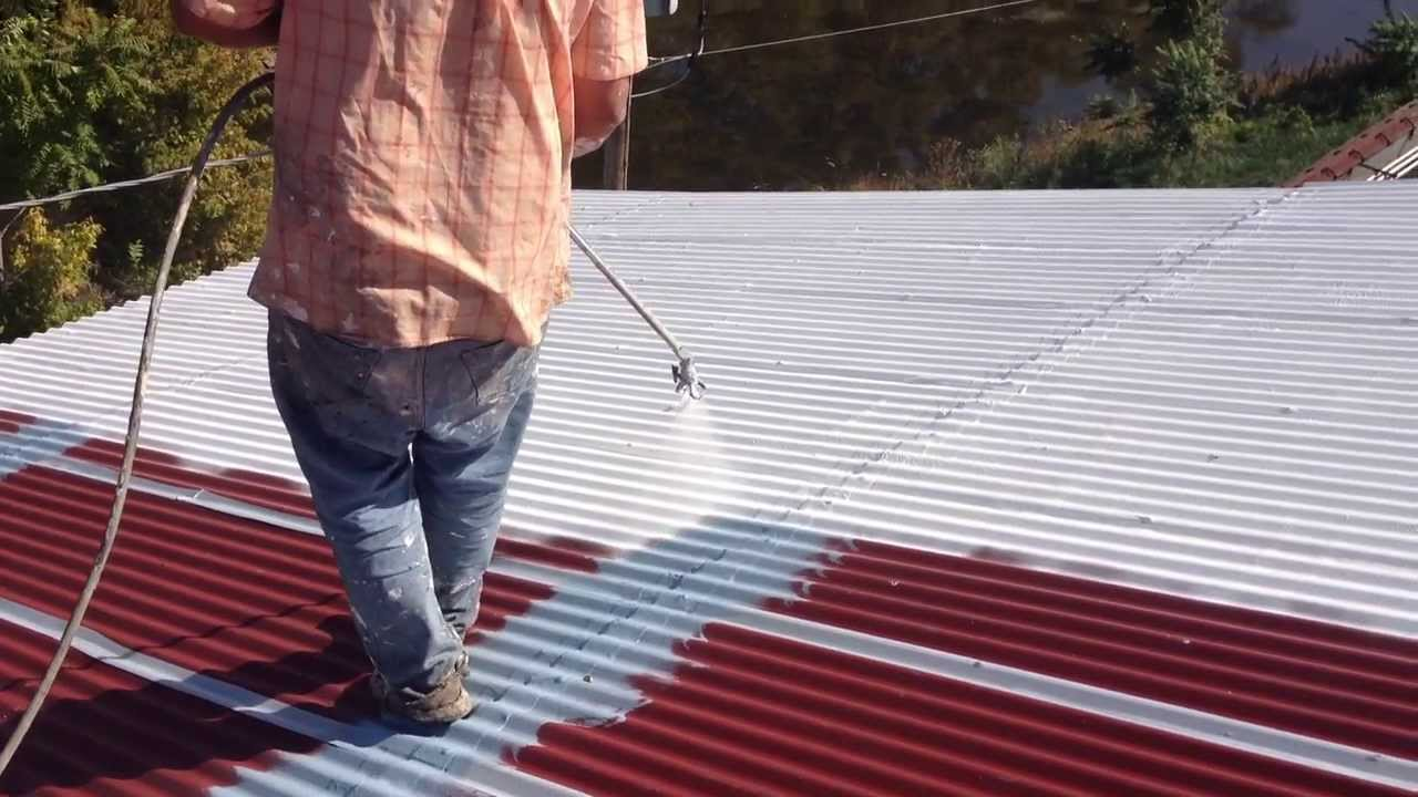 cheap metal roof coating repair