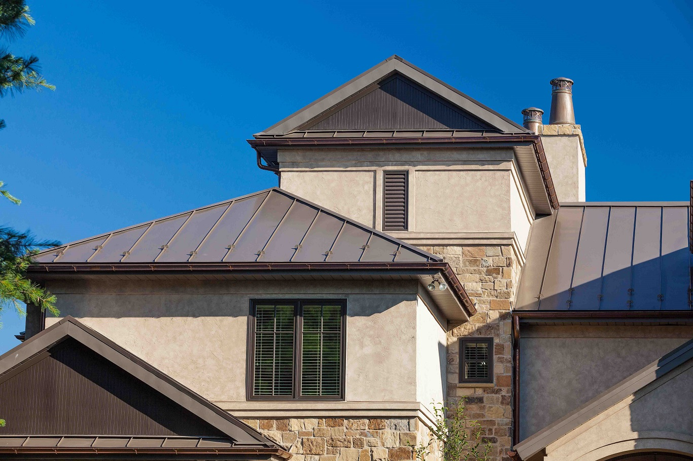 cheap metal roof colors house