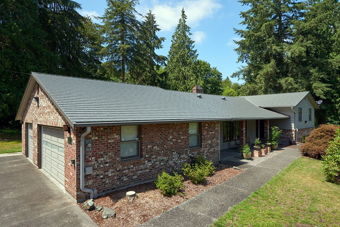 cheap metal roof colors on houses