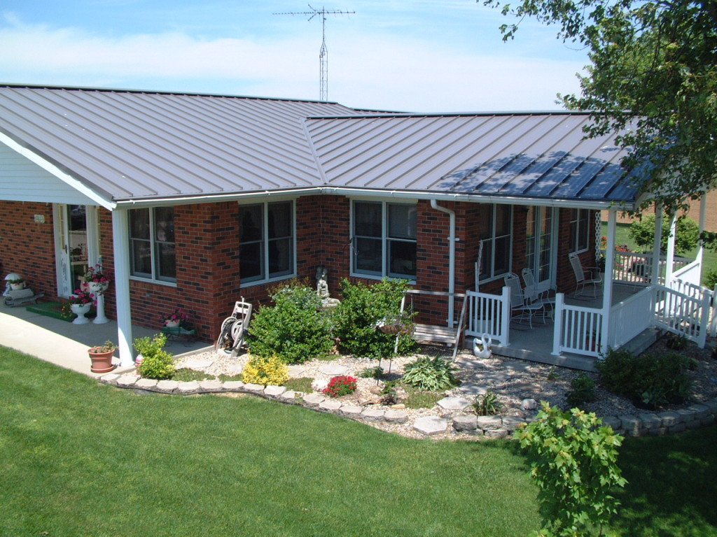 cheap metal roof shingle style