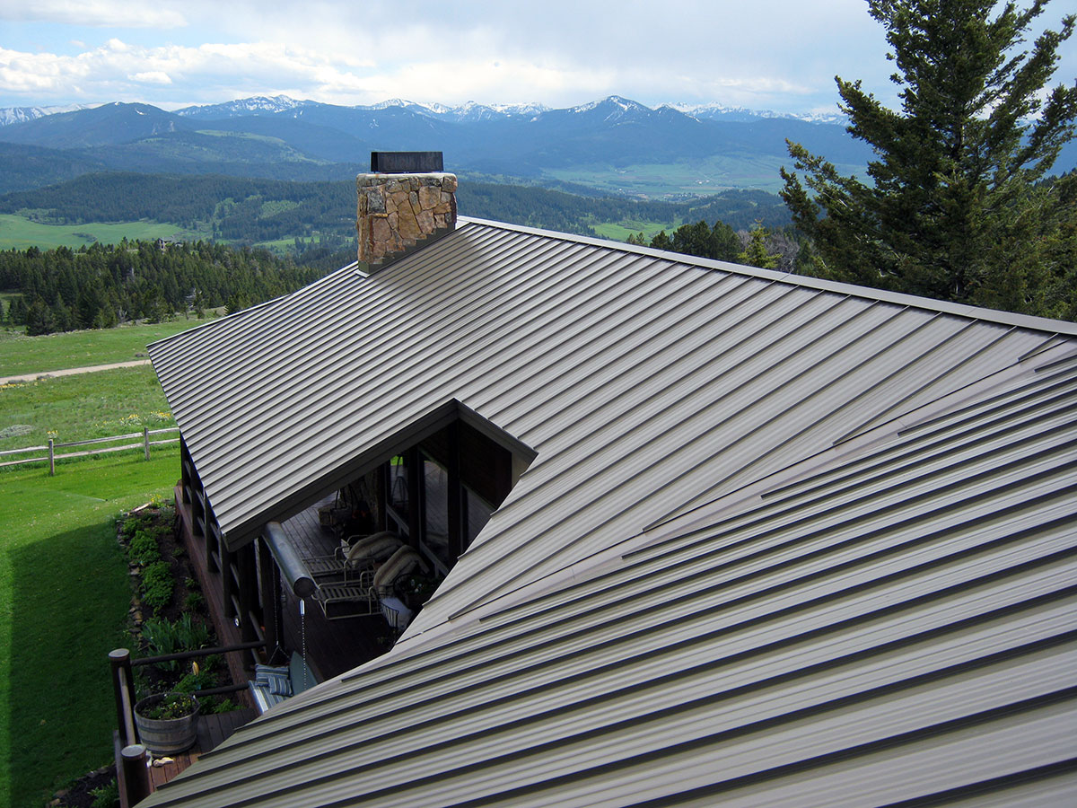 cheap metal roof styles