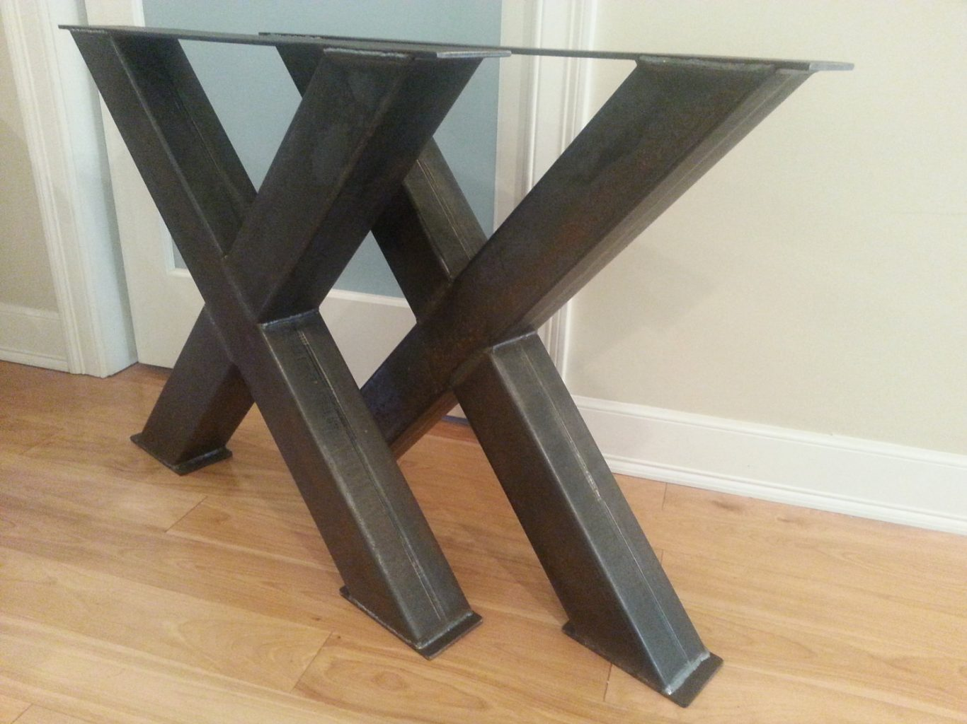 cheap metal table legs base