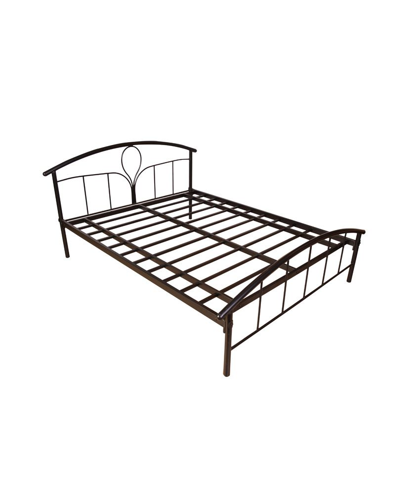 cheap queen metal bed frame platform